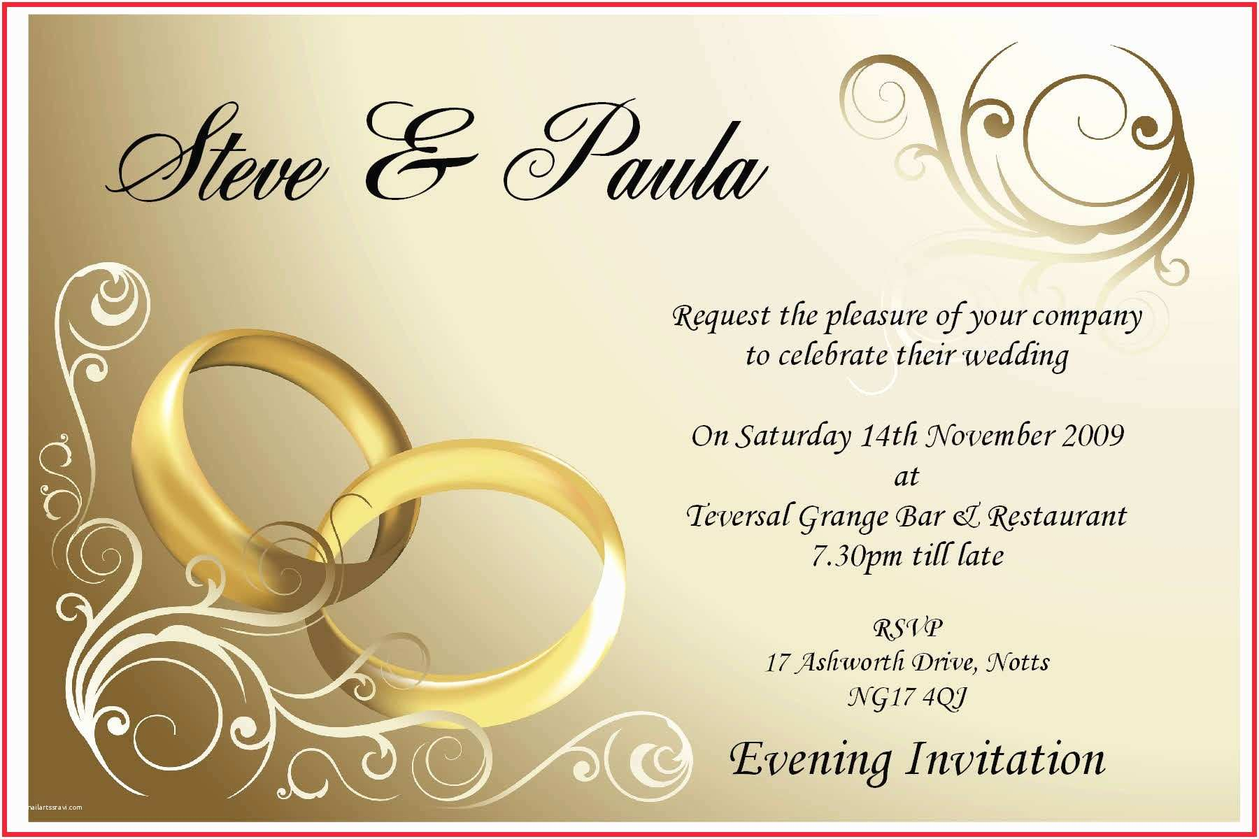 Editable Wedding Invitation Cards Free  Line Editable Wedding Invitation Cards Free