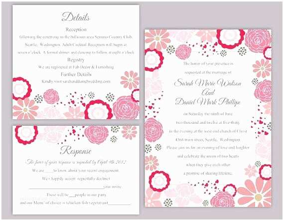 lovely wedding invitation word templates free or wedding invitation template set editable word file instant inside editable wedding invitation templates free hindu wedding invitation