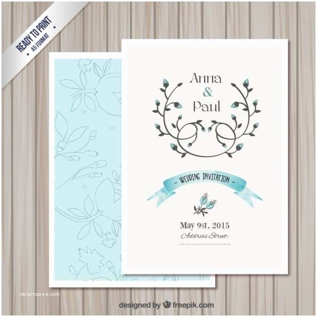 Editable Wedding Invitation Cards Free Download Wedding Invitation Card Template Vector