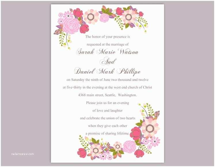 Editable Wedding Invitation Invitation Template Editable Choice Image Invitation