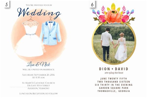 Editable Wedding Invitation Templates Editable Wedding Invitation Free Download Yaseen for