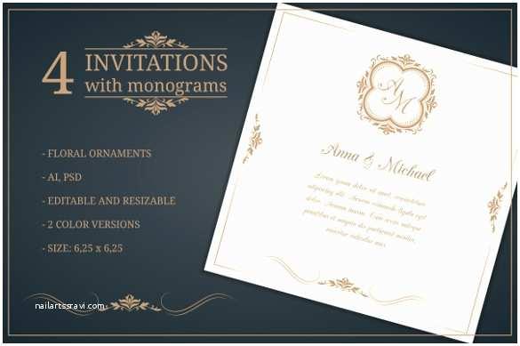 Editable Wedding Invitation Templates Free Download 30 Wedding Invitation Templates – Psd Ai Vector Eps