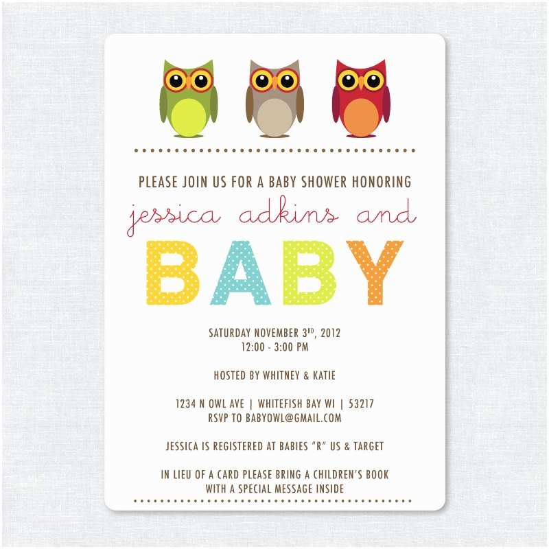 Electronic Baby Shower Invitations Rustic Owl Baby Shower Invitation Printable Digital File