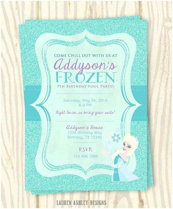 Electronic Birthday Invitations Anna And Elsa