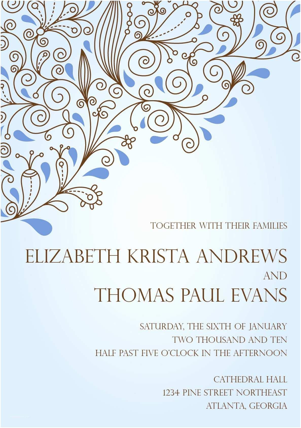 Electronic Wedding Invitations Wedding Invitation Wording Wedding Invitation Electronic
