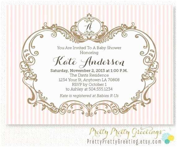 Elegant Baby Shower Invitations Elegant Baby Shower Invitations