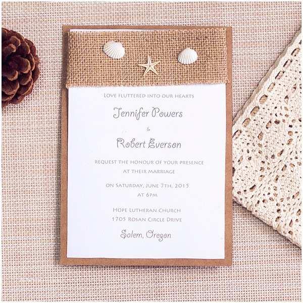 Elegant Beach Wedding Invitations 35 Gorgeous Beach Themed Wedding