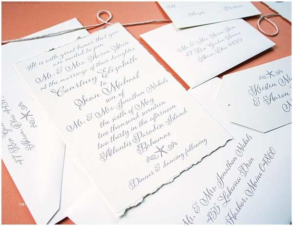 Elegant Beach Wedding Invitations Beach Wedding Invitations Custom Save The Dates