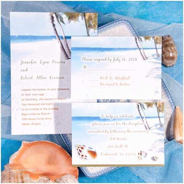 Elegant Beach Wedding Invitations Seal And Send Beach Wedding Invitations To Set The