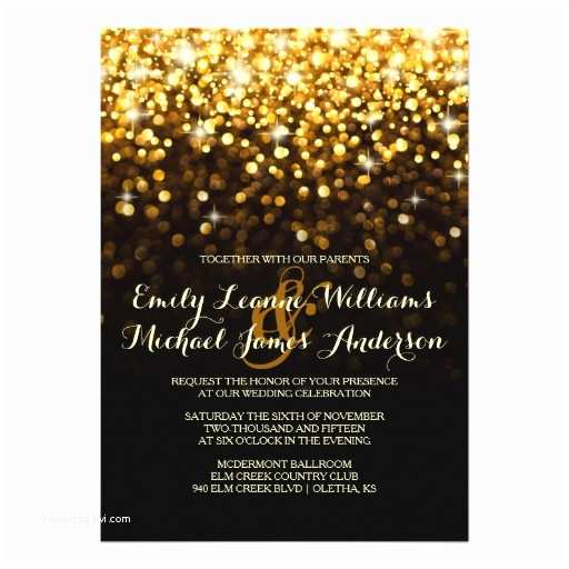 Elegant Black and Gold Wedding Invitations 30 000 Black and Gold Invitations Black and Gold