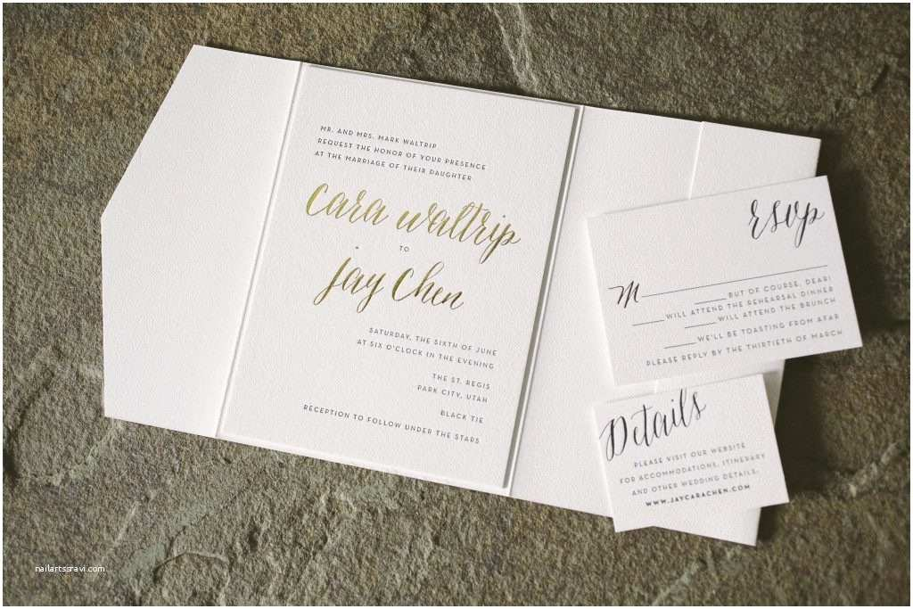 Elegant Black and Gold Wedding Invitations Rustic Elegant Wedding Invitations In Black and Gold