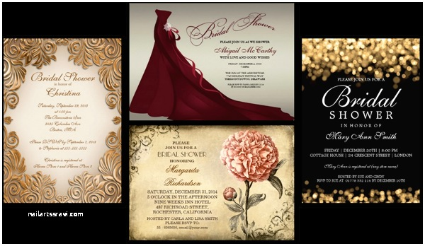 Elegant Bridal Shower Invitations Bztees2go Elegant Bridal Shower Invitations