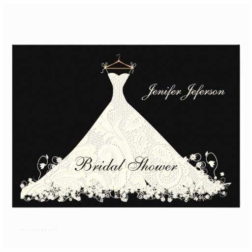 Elegant Bridal Shower Invitations Elegant Bridal Shower Invitation