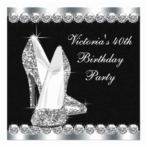 Elegant Party Invitations 40th Birthday Ideas Elegant 50th Birthday Invitation