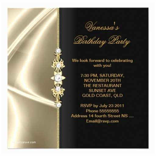 Elegant Party Invitations Black and Gold Invitations 30 000 Black and Gold Invites