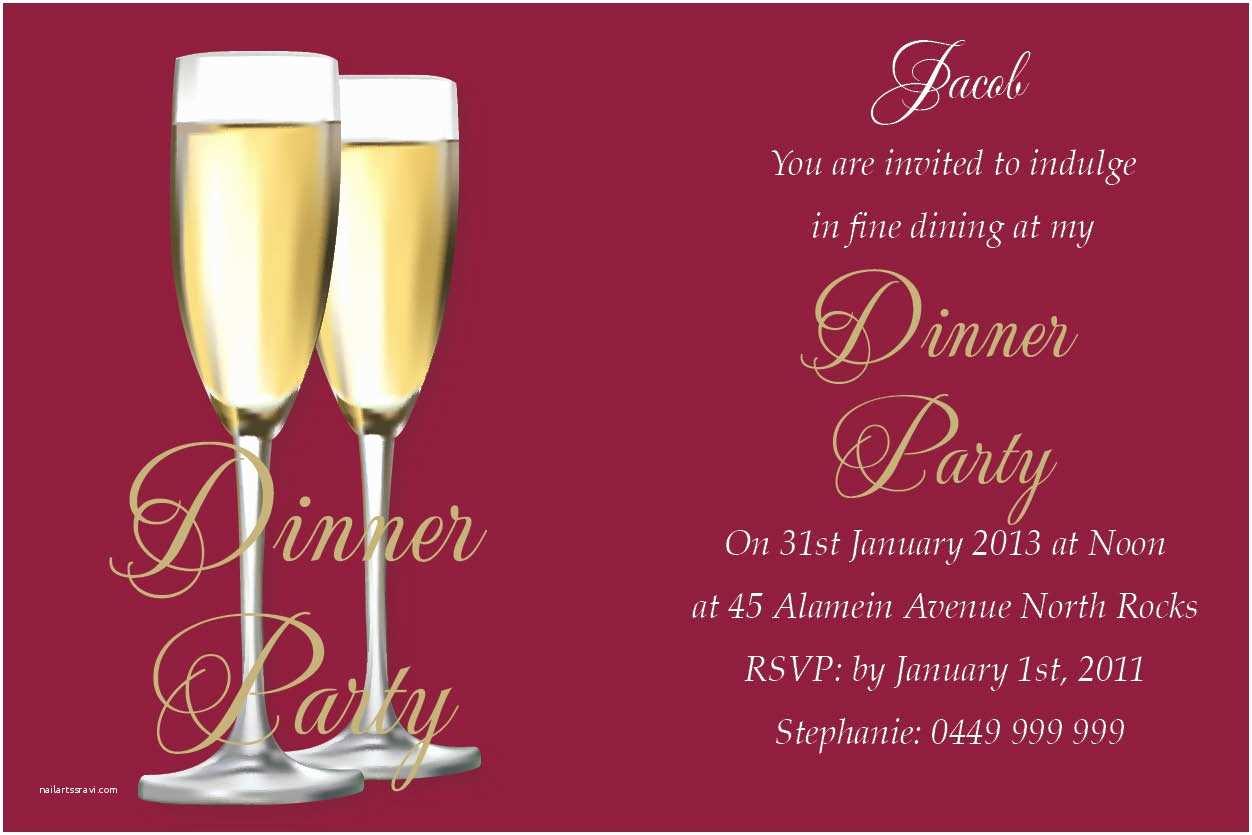 Elegant Party Invitations Elegant Christmas Party Invitation Colorful Decoration
