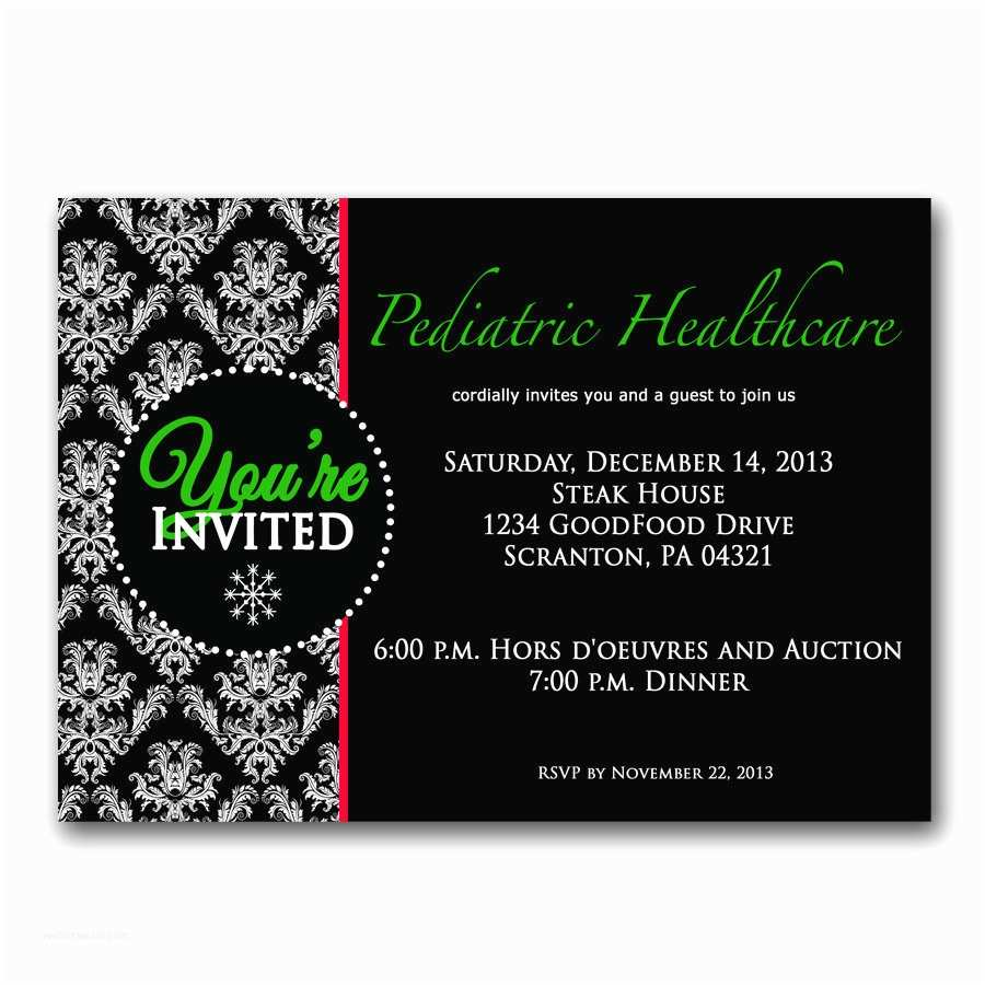 Elegant Party Invitations Fice Party Holiday Invitation Elegant Christmas Party Invite