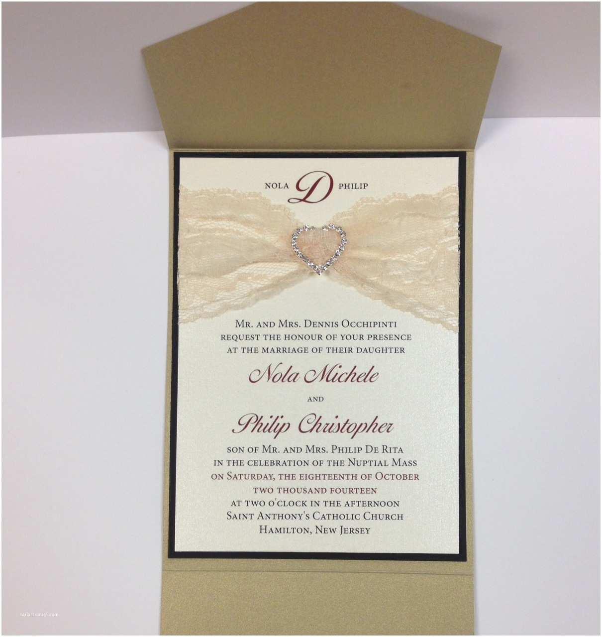 Elegant Pocket Wedding Invitations Choosing Elegant Wedding Invitations — Liviroom