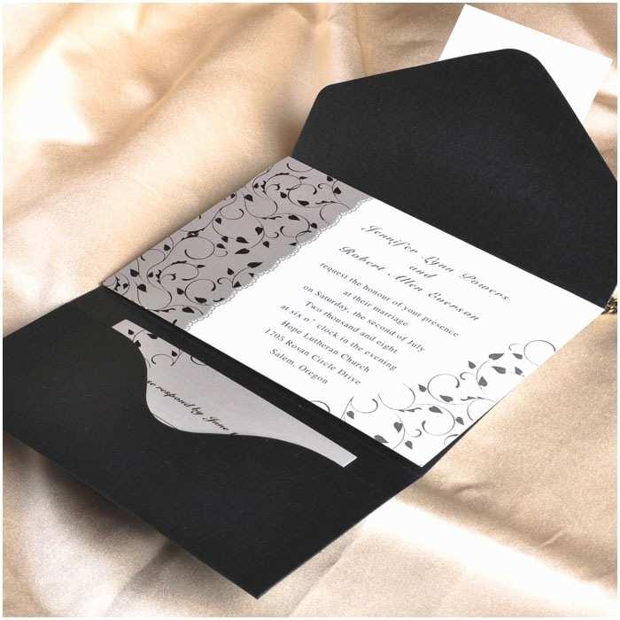 Elegant Pocket Wedding Invitations Pocket Wedding Invitations Uk Cheap Pocket Wedding