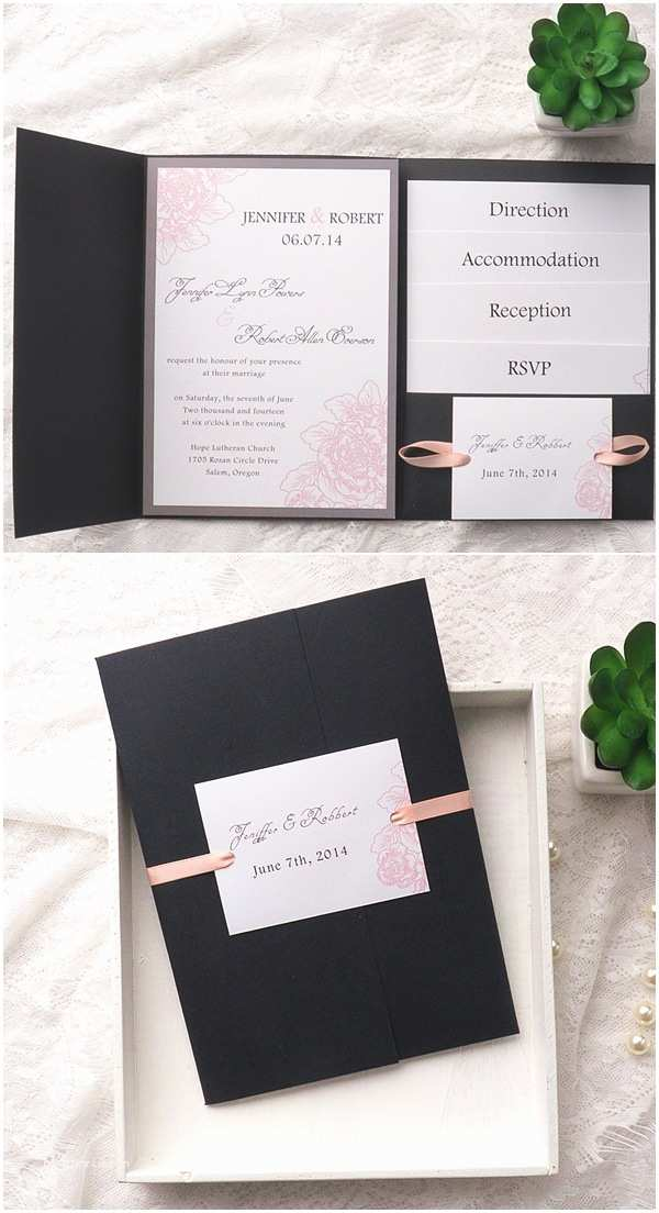 Elegant Wedding Invitation Sets 10 Hottest Wedding Invitation Trends for 2016
