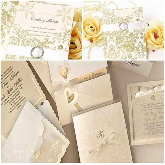 Elegant Wedding Invitation Sets Elegant Wedding Invitations to Set the tone for Your Big