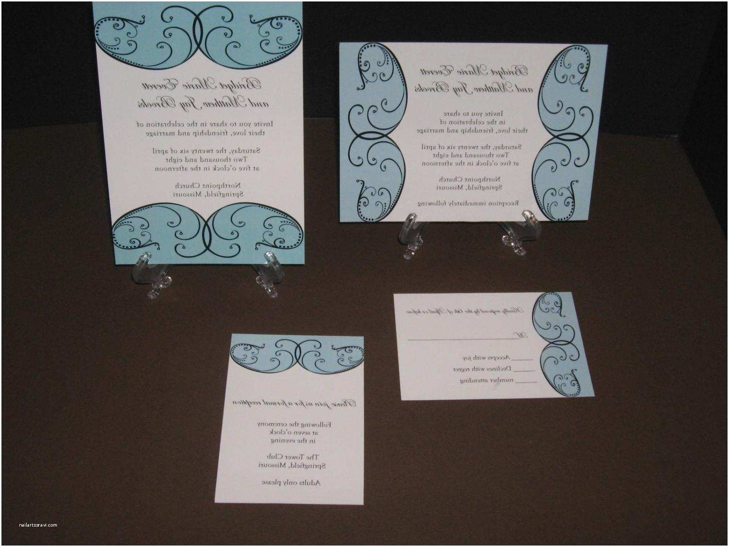 Elegant Wedding Invitation Sets Vila S Blog Elegant Wedding Invitation