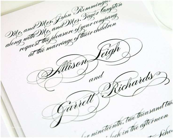 Elegant Wedding Invitation Wording 105 Best Elegant Wedding Invitations Images On Pinterest