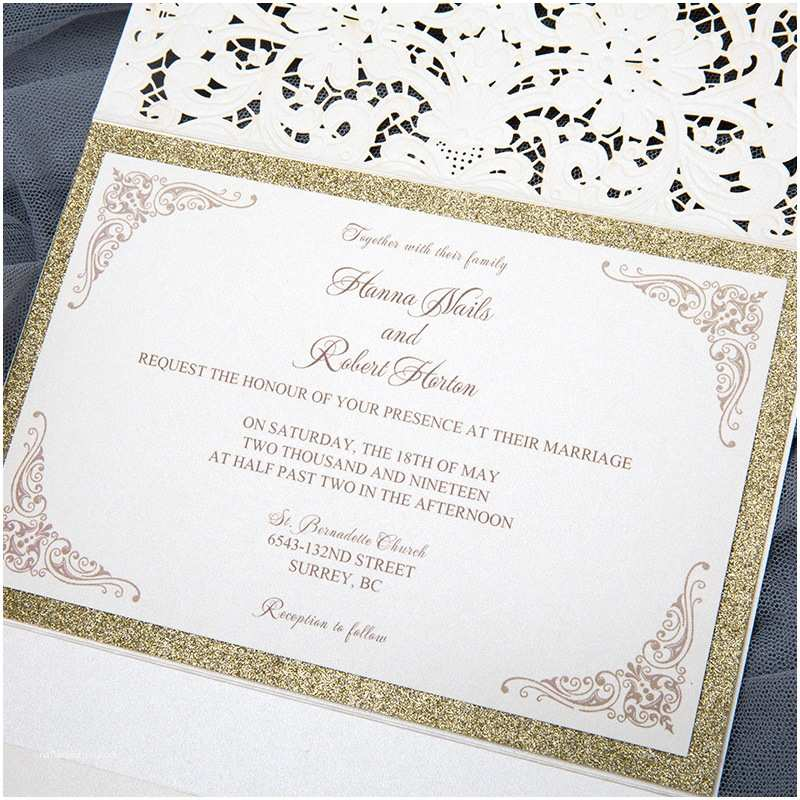 Elegant Wedding Invitations Affordable Wedding Invitations with Response Cards at