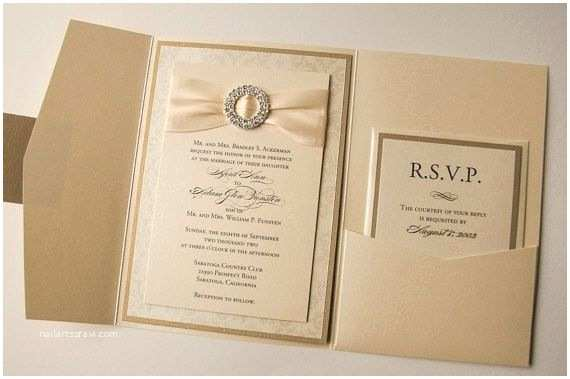 Elegant Wedding Invitations Elegant Gold Wedding Invitations