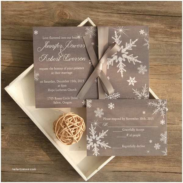 Elegant Wedding Invitations Elegant Grey Winter Wedding Invitations Ewi411 as Low as
