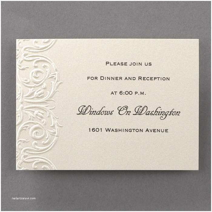 Elegant Wedding Invitations Elegant Lace Wedding Invitations Additional Card S