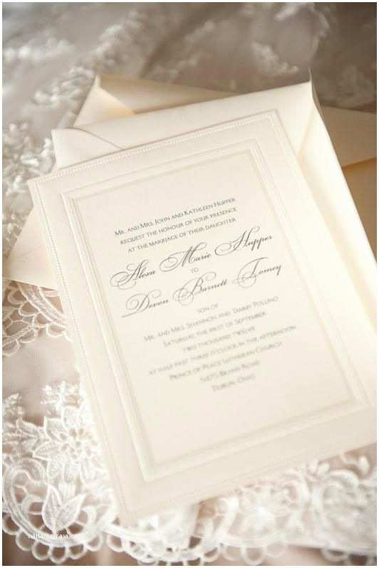 Elegant Wedding Invitations Our Invites Simple & Elegant Wedding Invites