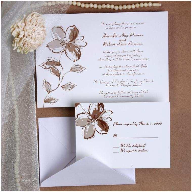 Elegant Wedding Invitations Printable Romantic Floral Wedding Invites Ewi179 as Low as