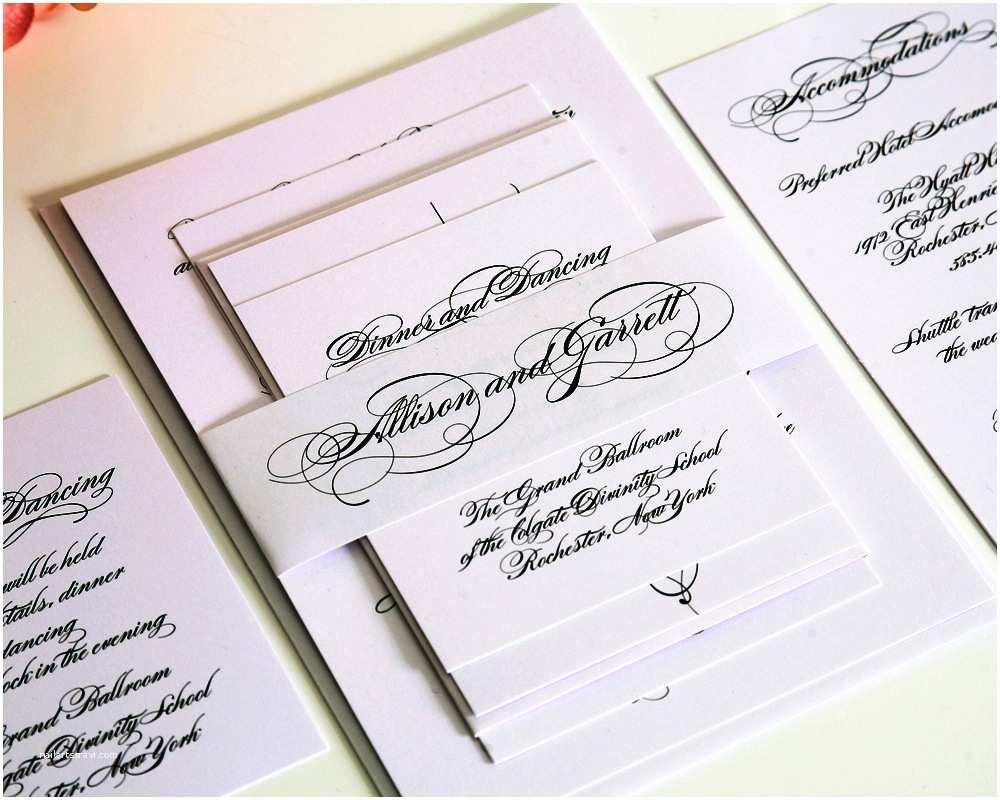 Elegant Wedding Invitations Simple Elegant Wedding Invitations — Criolla Brithday