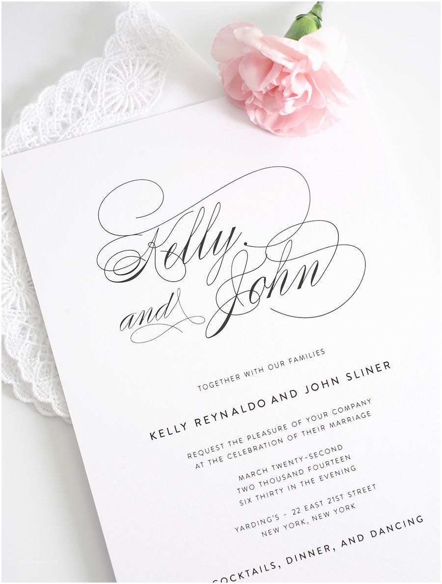 Elegant Wedding Invitations Wedding Hankies and Wedding Invitations