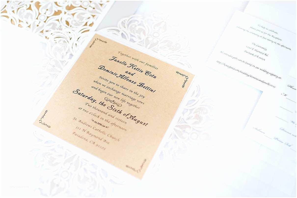 Elegant Wedding Invites Reviews Graceful Ivory Shimmery Laser Cut Wedding Invitations
