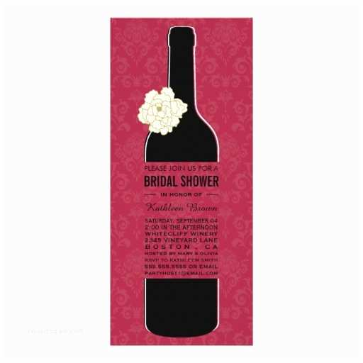 Elegant Wedding Shower Invitations 175 Wine Tasting Bridal Shower Invitations Wine Tasting
