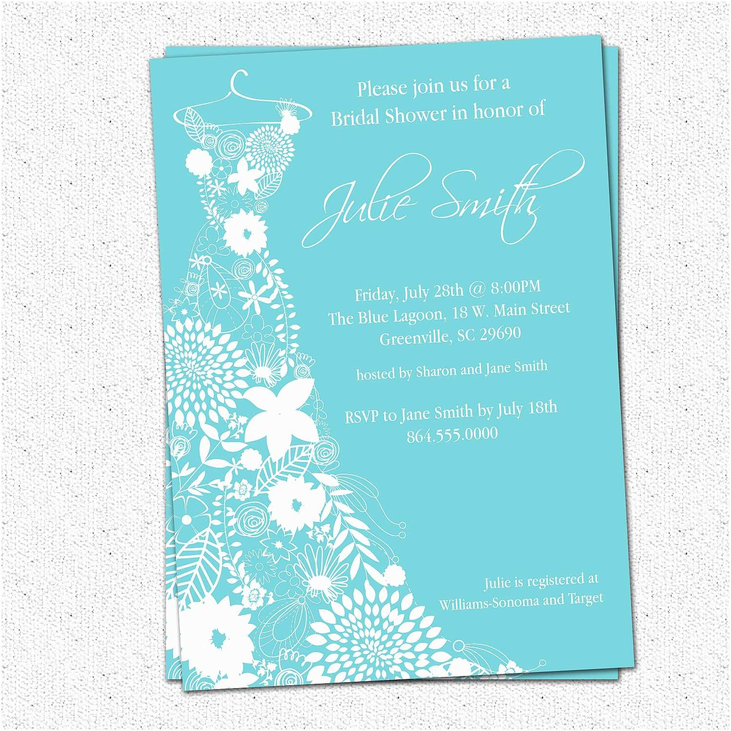 Elegant Wedding Shower Invitations Bridal Shower Invitation Templates Beepmunk