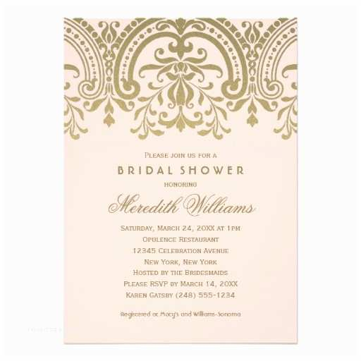 Elegant Wedding Shower Invitations Bridal Shower Invitations Bridal Shower Invitations Blush