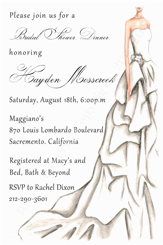 Elegant Wedding Shower Invitations Elegant Bridal Shower Invitation Gray Wedding by