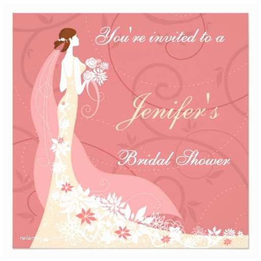 Elegant Wedding Shower Invitations Elegant Bridal Shower Invitation