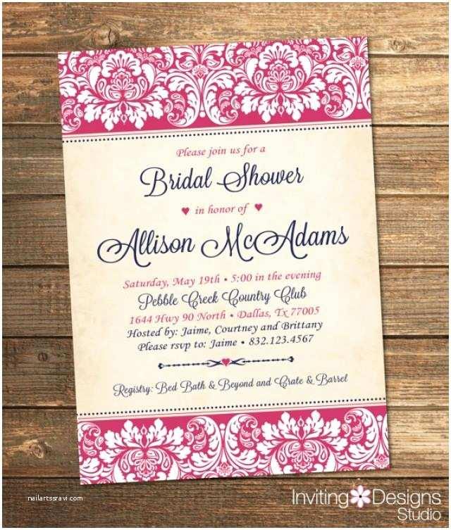 Elegant Wedding Shower Invitations Elegant Bridal Shower Invitation Wedding Shower