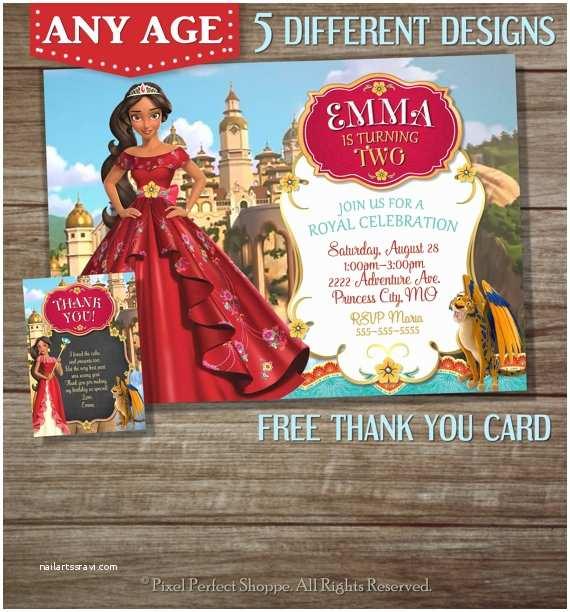 Elena Of Avalor Party Invitations Items Similar to Elena Of Avalor Invitation Elena