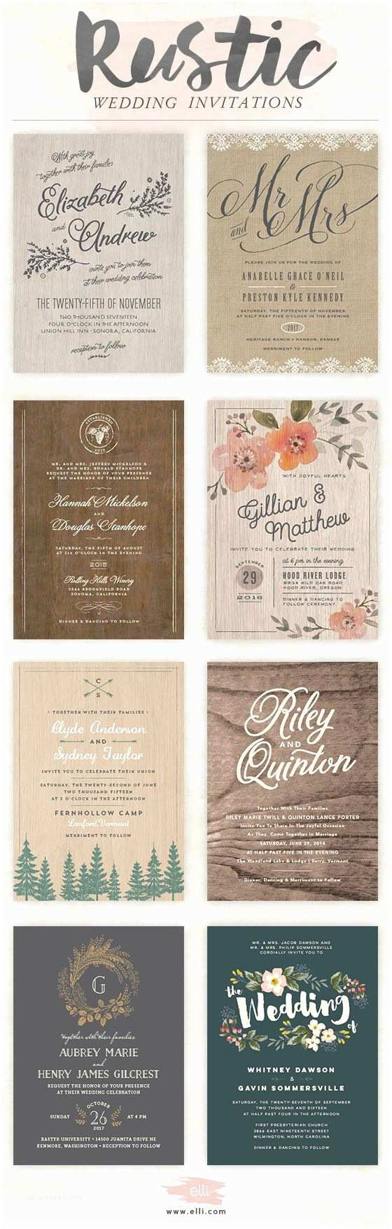 Elli Wedding Invitations 1000 Ideas About Rustic Wedding Showers On Pinterest