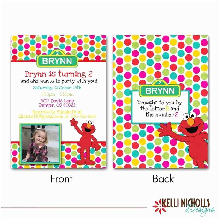 Elmo Birthday Party Invitations 240 Best 2nd Birthday Images On Pinterest