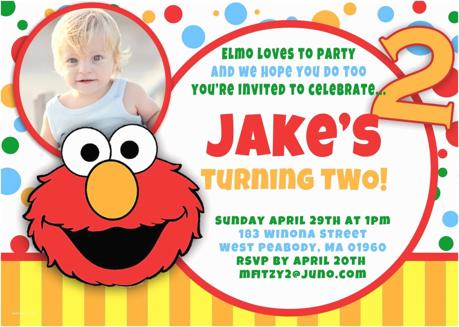 Elmo Birthday Party Invitations Elmo 1st Birthday Invitations – Bagvania Free Printable