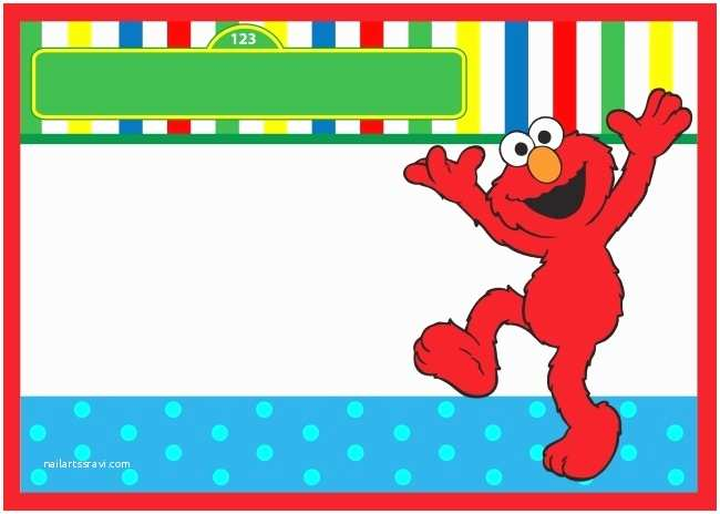 Elmo Birthday Party Invitations Elmo Birthday Invitation Free Template