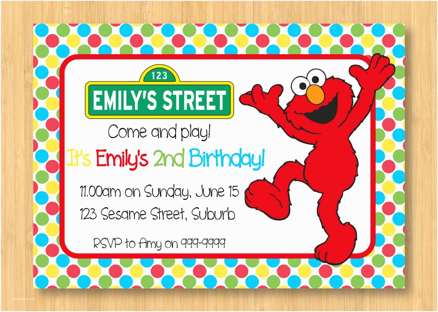 Elmo Birthday Party Invitations How to Create Elmo Birthday Party Invitations Templates
