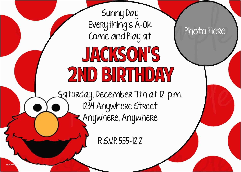 Elmo Party Invitations Elmo Birthday Invitations Printable Free — Anouk Invitations