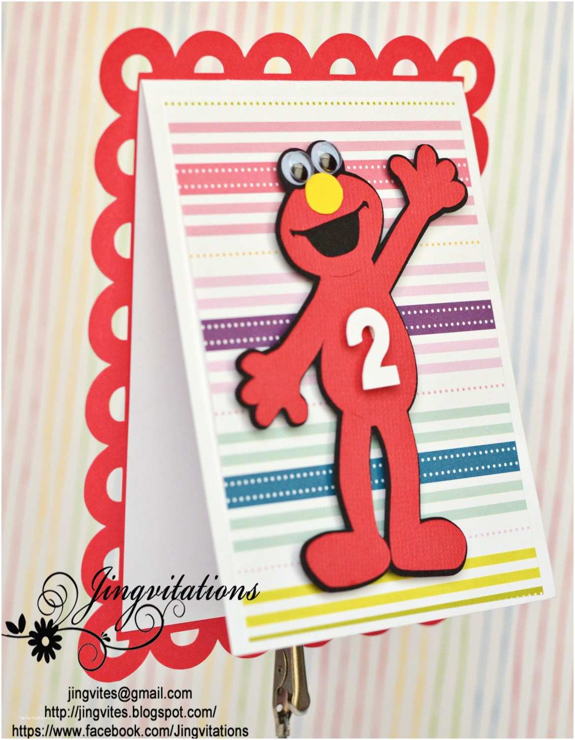 Elmo Party Invitations Elmo Birthday Party Invitations
